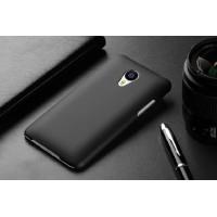 Пластиковый матовый непрозрачный чехол для Meizu MX4 Pro Черный