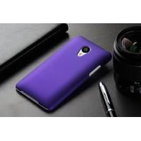 Пластиковый матовый непрозрачный чехол для Meizu MX4 Pro Фиолетовый