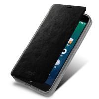 Чехол флип подставка водоотталкивающий для Meizu MX4 Pro Черный