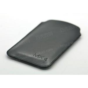 Кожаный мешок для Meizu MX4 Pro Черный
