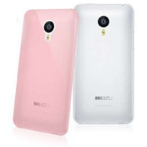 Силиконовый ультратонкий полупрозрачный чехол для Meizu MX4 Pro
