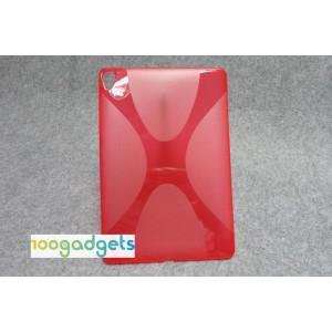 Силиконовый X чехол для Google Nexus 9 Красный