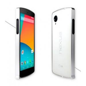 Металлический бампер для Google LG Nexus 5 Серый