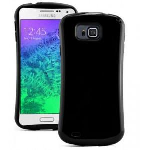 Силиконовый эргономичный чехол повышенной защиты для Samsung Galaxy Alpha