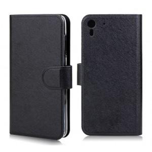 Чехол портмоне подставка с защелкой для HTC Desire Eye Черный