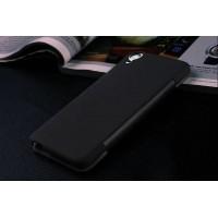 Точечный чехол смарт-флип с функциями оповещения для HTC Desire Eye Черный