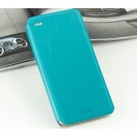 Чехол флип подставка водоотталкивающий для HTC Desire Eye Голубой