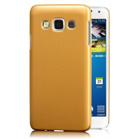 Пластиковый чехол-накладка для Samsung Galaxy A3 Желтый