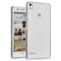 Транспарентный пластиковый чехол для Huawei Ascend P6