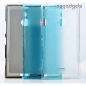 Силиконовый матовый полупрозрачный чехол для Nokia Lumia 1520