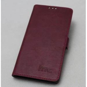 Кожаный чехол портмоне (нат. кожа) для HTC One E8