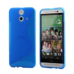 Силиконовый S чехол для HTC One E8