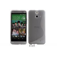 Силиконовый S чехол для HTC One E8 Серый