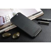 Точечный чехол смарт флип с функциями оповещения для HTC One E8 Черный