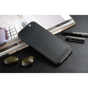 Точечный чехол смарт флип с функциями оповещения для HTC One E8