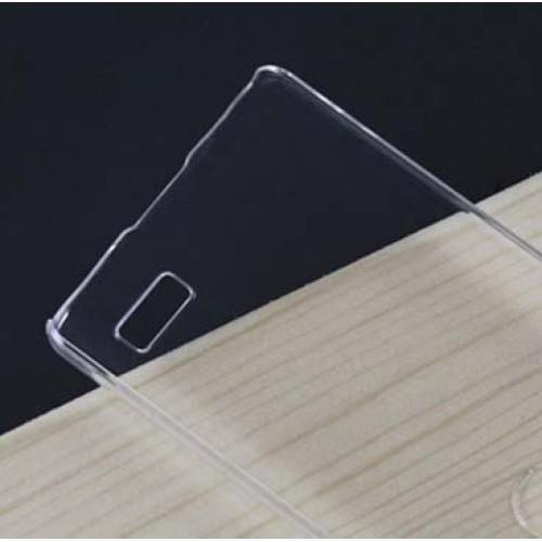 Пластиковый транспарентный чехол для LG L Bello