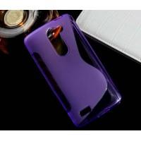 Силиконовый S чехол для LG L Bello Фиолетовый