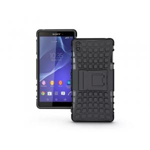 Силиконовый чехол экстрим защита для Sony Xperia Z3 Черный