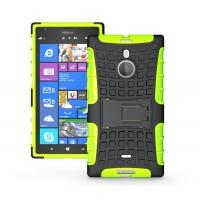 Чехол экстрим-защиты для Nokia Lumia 1520 Зеленый
