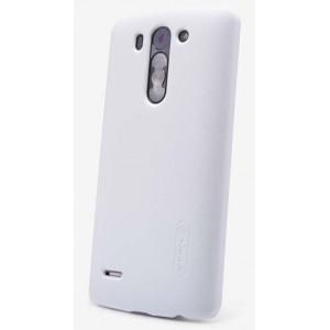 Пластиковый матовый нескользящий премиум чехол для LG L Fino