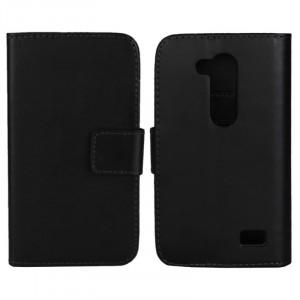 Чехол портмоне подставка с защелкой для LG L Fino Черный