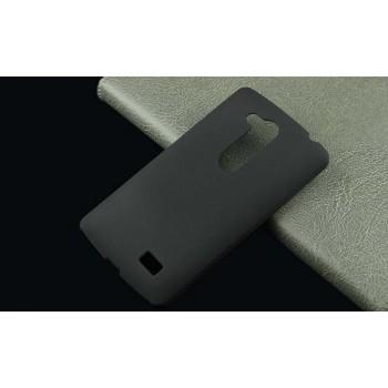 Пластиковый матовый непрозрачный чехол для LG L Fino