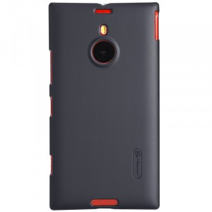 Премиум матовый пластиковый чехол для Nokia Lumia 1520 Черный