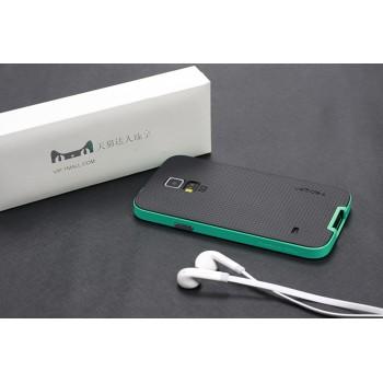 Премиум матовый двухкомпонентный силикон-пластик чехол для Samsung Galaxy S5 (Duos)