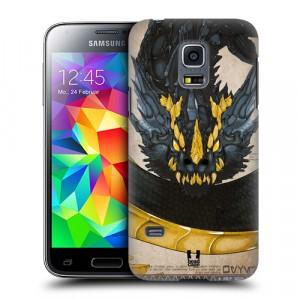 Пластиковый матовый дизайнерский чехол с принтом серия Dragons для Samsung Galaxy S5 Mini