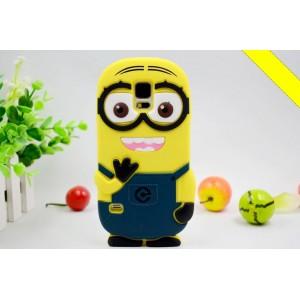 Силиконовый дизайнерский фигурный чехол для Samsung Galaxy S5 (Duos)
