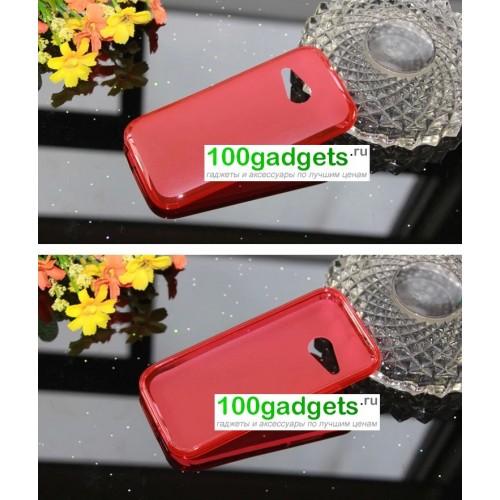 Силиконовый чехол для HTC One 2 mini Фиолетовый