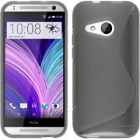 Силиконовый S чехол для HTC One mini 2 Серый