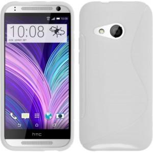 Силиконовый S чехол для HTC One mini 2 Белый