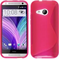Силиконовый S чехол для HTC One mini 2 Розовый