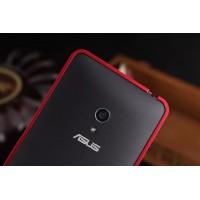 Металлический бампер для ASUS Zenfone 6 Красный