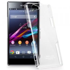 Пластиковый транспарентный чехол для Sony Xperia Z1 Compact
