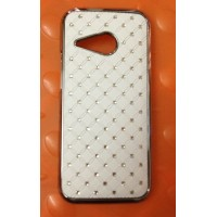 Пластиковый чехол со стразами для HTC One 2 mini