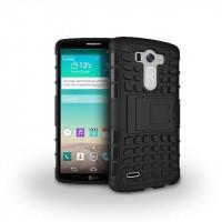 Силиконовый чехол экстрим защита для LG G3 (Dual-LTE) Черный