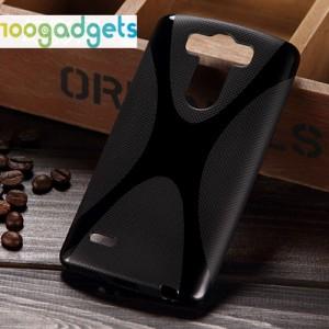 Силиконовый X чехол для LG G3 S Черный