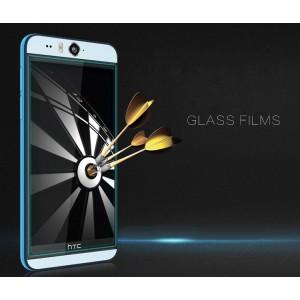 Ультратонкое износоустойчивое сколостойкое олеофобное защитное стекло-пленка для HTC Desire Eye