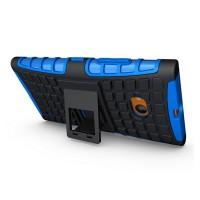 Силиконовый чехол экстрим защита для Nokia Lumia 730/735 Синий
