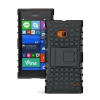 Силиконовый чехол экстрим защита для Nokia Lumia 730/735 Черный