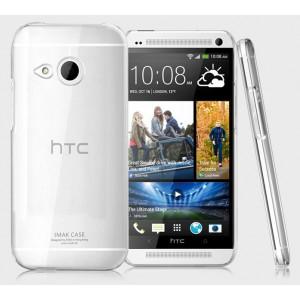 Пластиковый транспарентный чехол для HTC One 2 mini