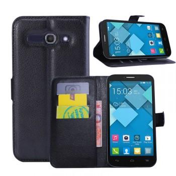 Чехол портмоне подставка с защелкой для Alcatel One Touch Pop C9