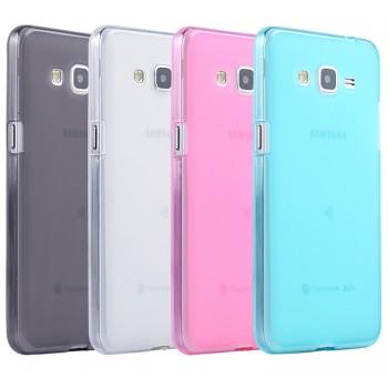 Силиконовый матовый полупрозрачный чехол для Samsung Galaxy Grand Prime