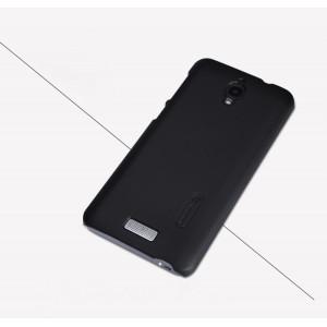 Пластиковый матовый нескользящий премиум чехол для Lenovo S660