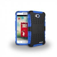 Силиконовый чехол экстрим защита для LG L70 Синий