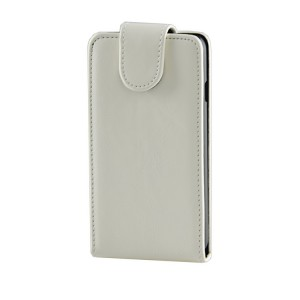 Чехол вертикальная книжка на пластиковой основе с магнитной застежкой для LG L70