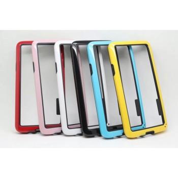 Силиконовый бампер двухцветный для Samsung Galaxy A3