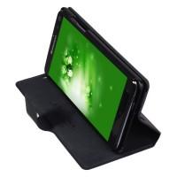 Чехол-флип с отделением для карт для Lenovo Vibe Z K910 Черный